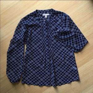 Banana Republic navy blouse -XS Petite